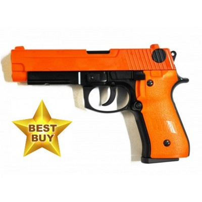 HFC HG170 Full Metal Airsoft Gas Powered Semi-Automatic BB Gun Pistol with Blowback 330 FPS