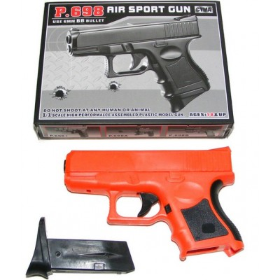 Cyma P698 Spring Powered Plastic BB Gun Pistol