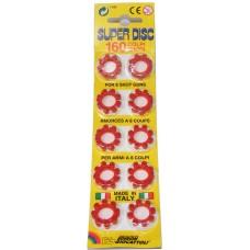 160 Edison Giocattoli 8-Shot Super Disc Caps (20 x 8-shot rings)
