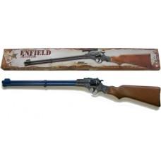 Edison Giocattoli 8 Shot Enfield Western Style Plastic + Metal Cap Gun Rifle