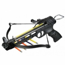 Komodo 50Lb Aluminium Crossbow with 4 Plastic Arrows