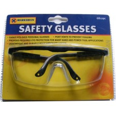 Marksman Polycarbonate Safety Glasses - Fully Tested Against 0.30g Aluminium Pellets @ 320FPS