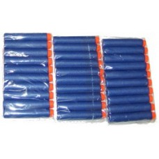 Pack of 30 Blue Soft Foam Darts - For Use with All Soft Foam Dart Guns
