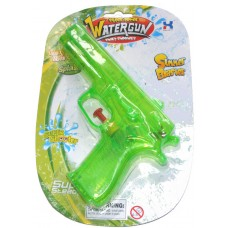 18cm Plastic Water Gun Pistol - Choice of 3 Colours